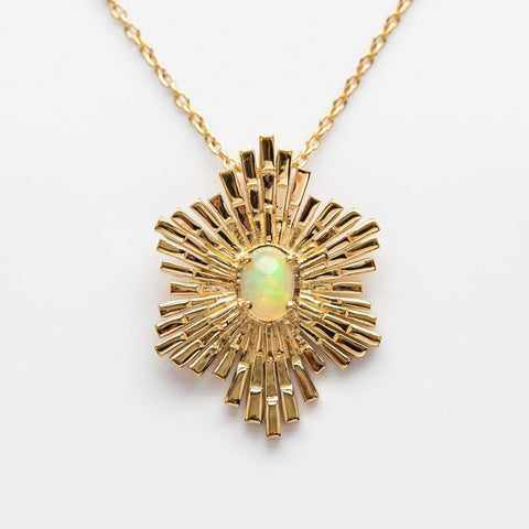 Faye Opal Necklace