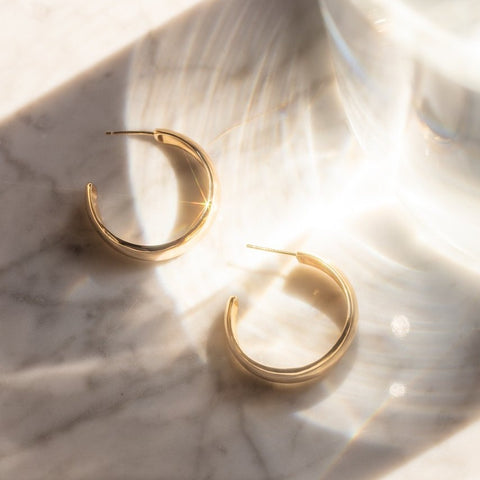Oro Hoop Earrings