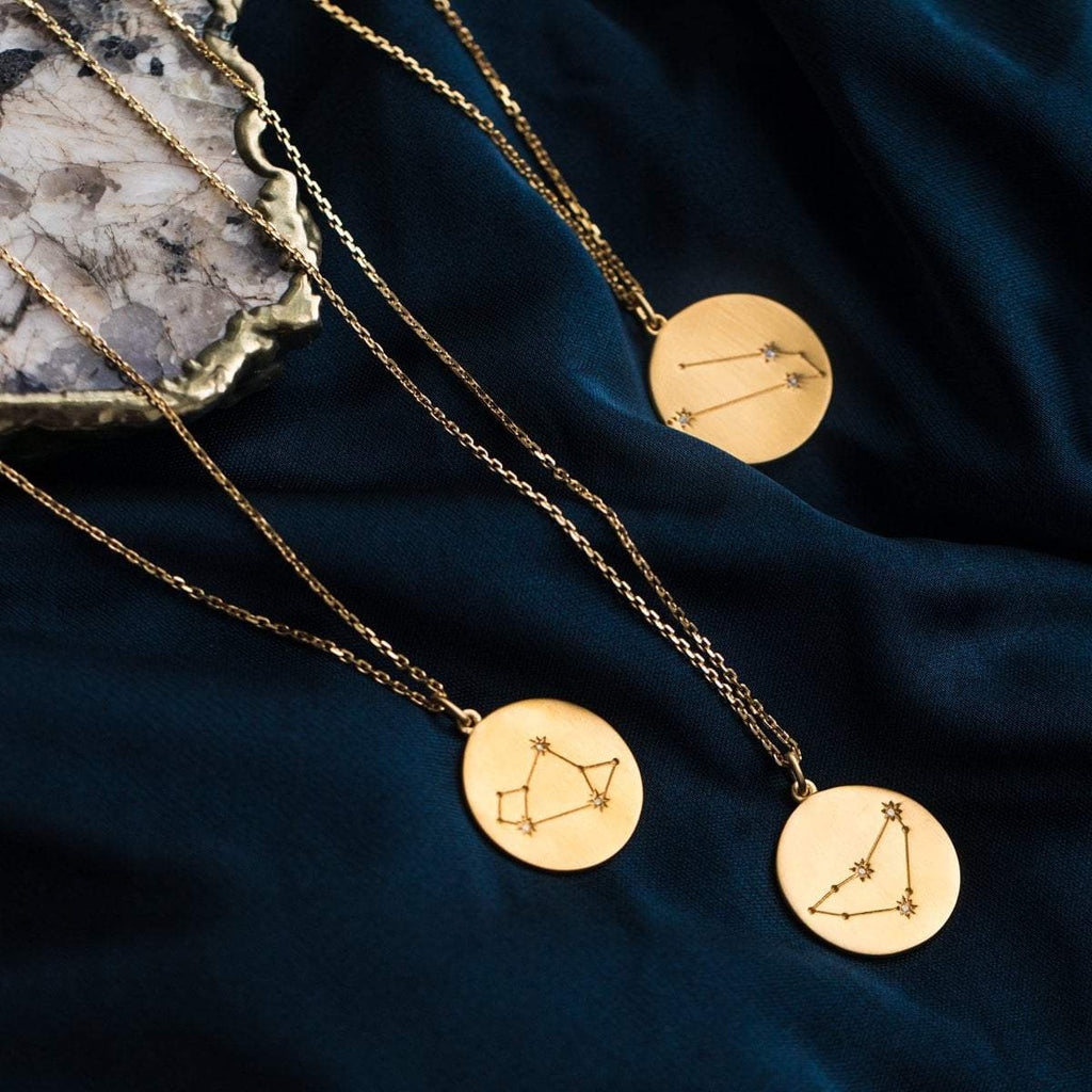 zodiac necklaces, personalized necklaces, necklace gift