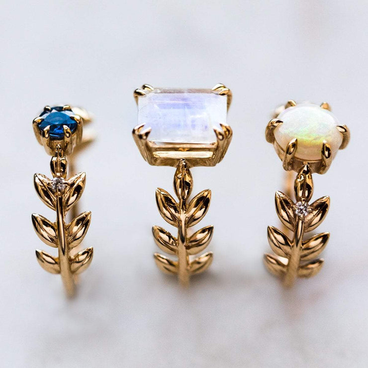 Opal Goddess Ring in 18K rings Nora Sermez