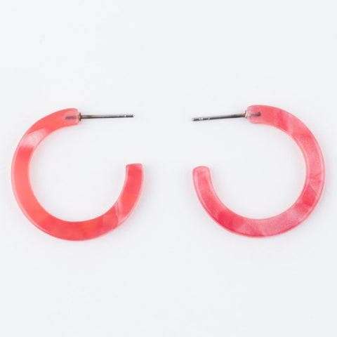 Amora Earrings in Rosado - earrings - Casa Clara local eclectic