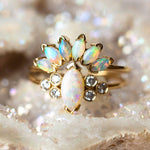 14K Opal Caribbean Sunrise Ring