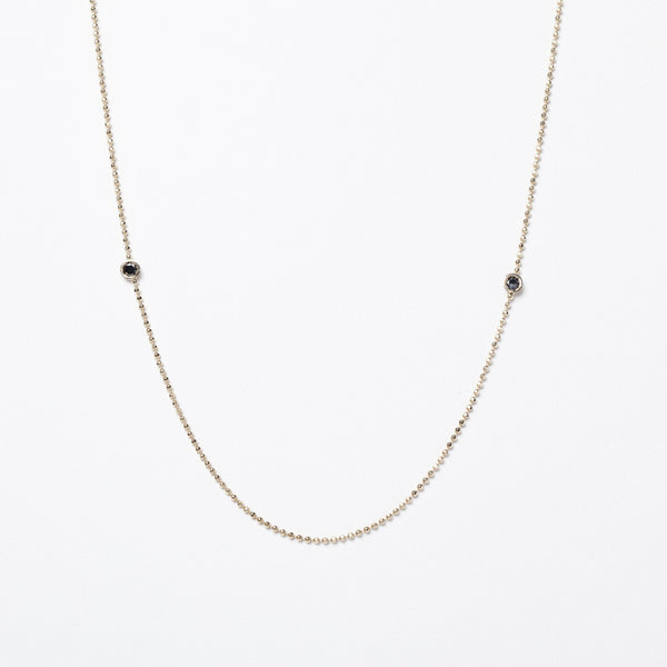 Black Diamonds Balance Necklace - local eclectic  - 1