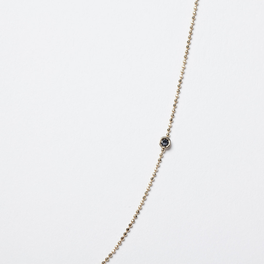 Black Diamonds Balance Necklace - local eclectic  - 2