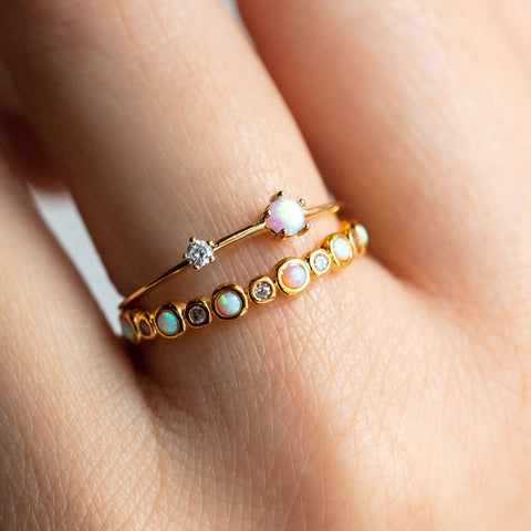 Sweet Like Candy Stacking Ring Set