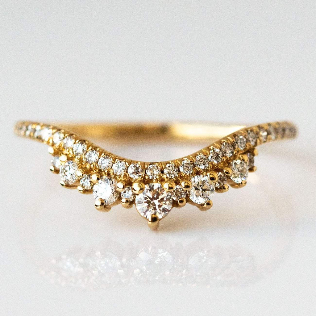 Dripping In Diamonds Stacking Ring Set