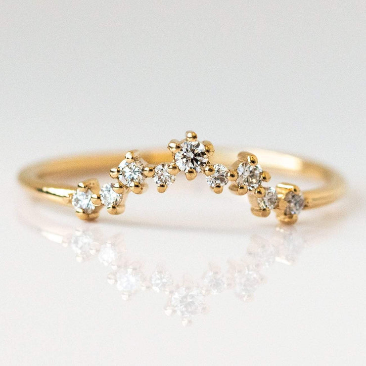 Dripping In Diamonds Stacking Ring Set rings Everett