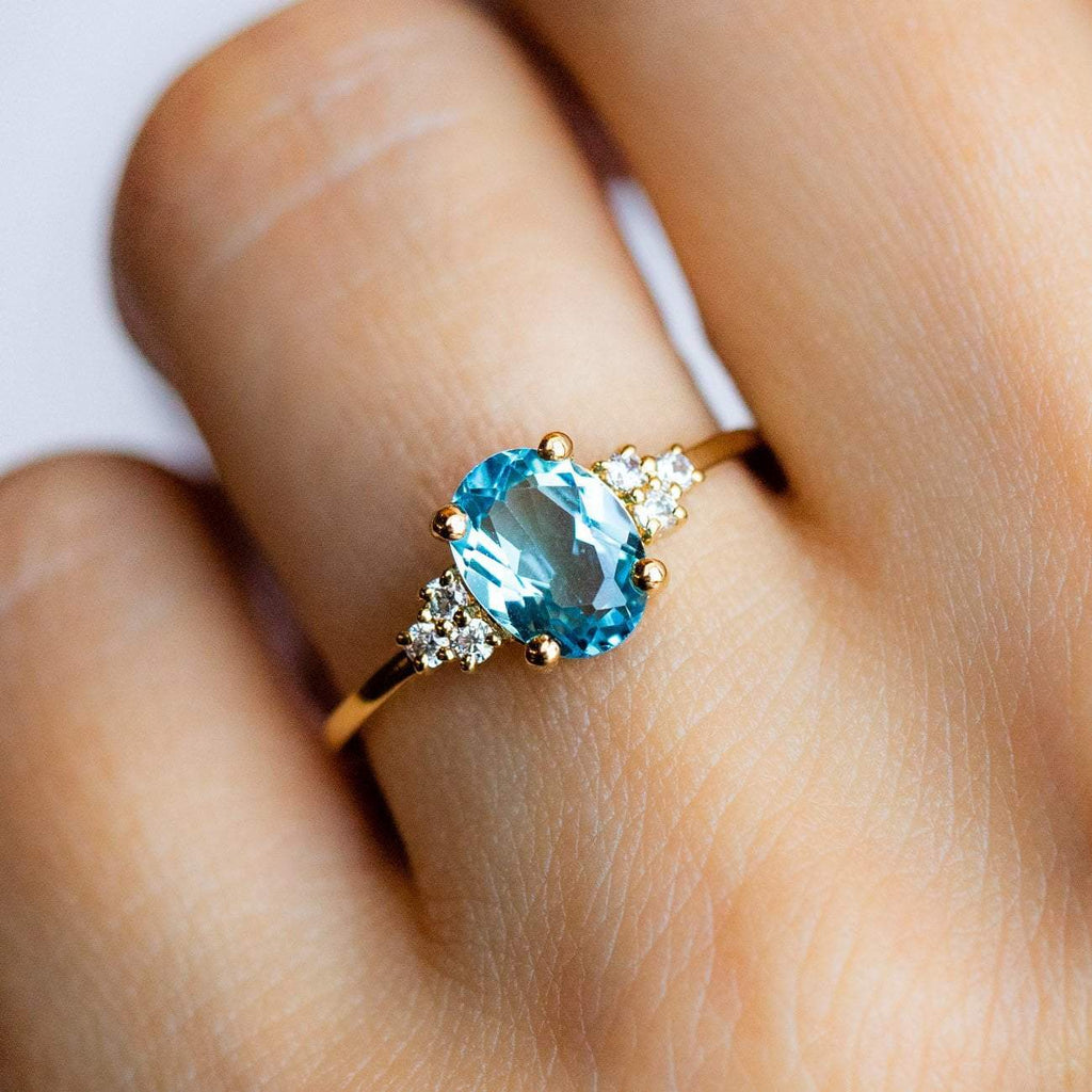 London Blue Topaz Lovestruck Ring
