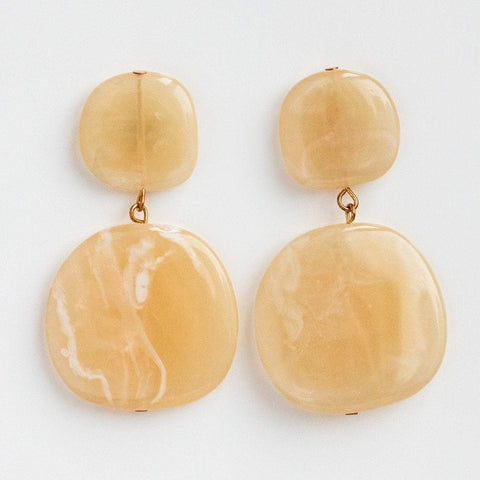 Drop Earrings Modern Acetate Jewelry Casa Clara