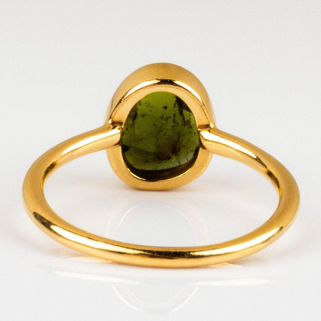 Statement Green Tourmaline Ring