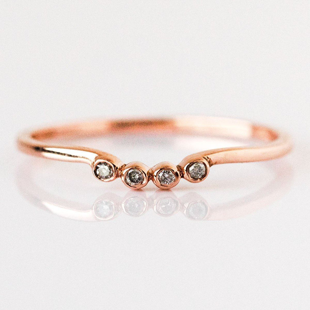 Cloud 9 Stacking Ring Set - rings - Carrie Elizabeth Jewelry local eclectic