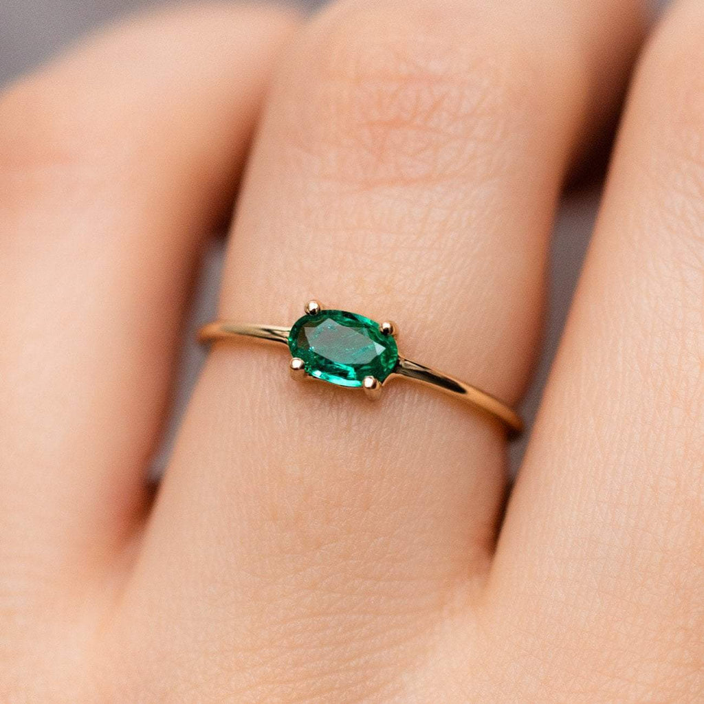 14K Gold Sweetest Birthstone Ring