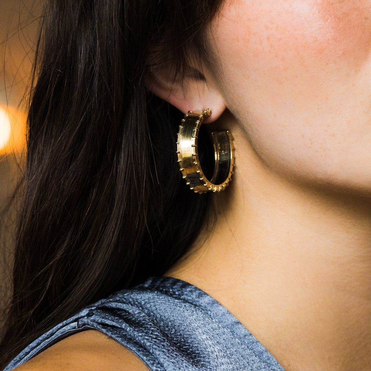bfc3657d3 Couro Earrings - earrings - Laura Lombardi local eclectic