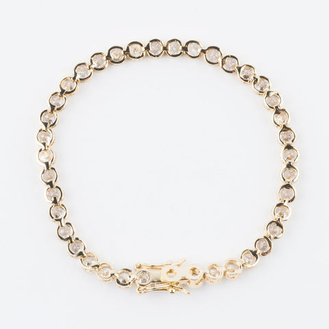 Diamondette Baroness Bracelet in Gold - bracelets - Melinda Maria local eclectic
