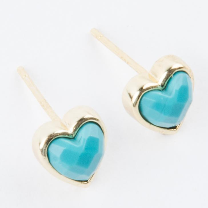 afbc6d369 Turquoise Cadence Earrings in Gold - earrings - Melinda Maria local eclectic