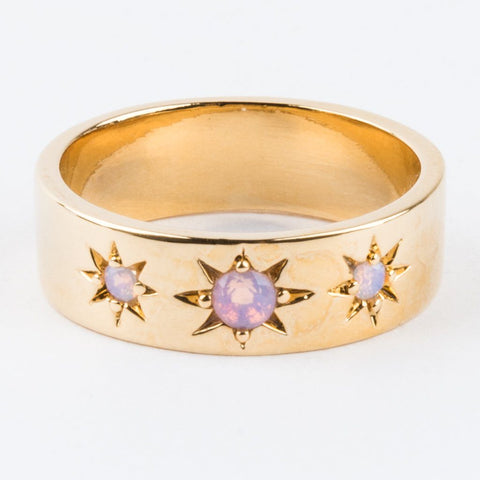Jameson Opal Star Ring - rings - Five and Two local eclectic