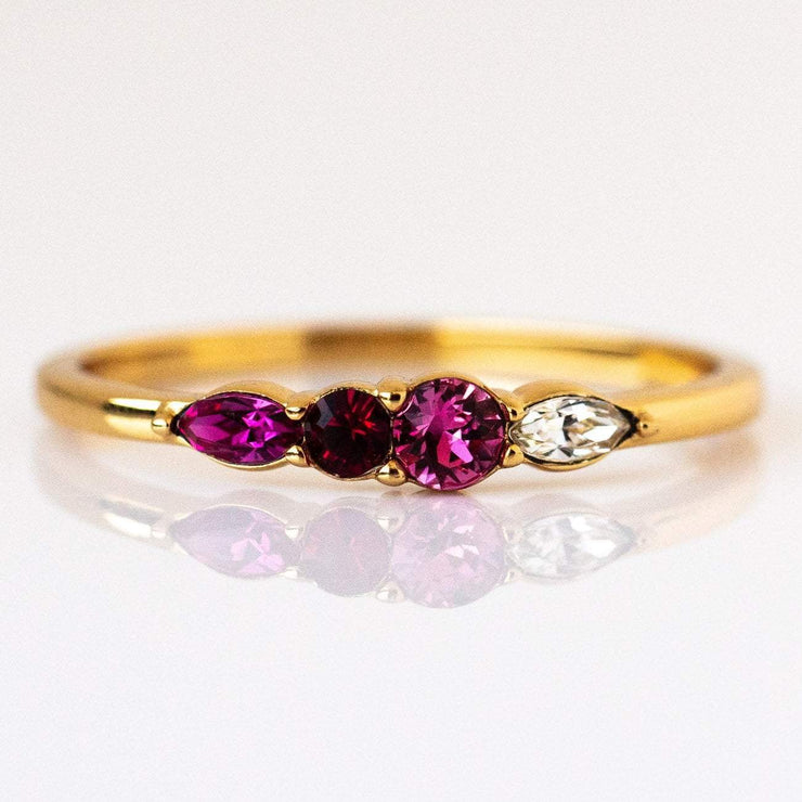 july birthstone ring