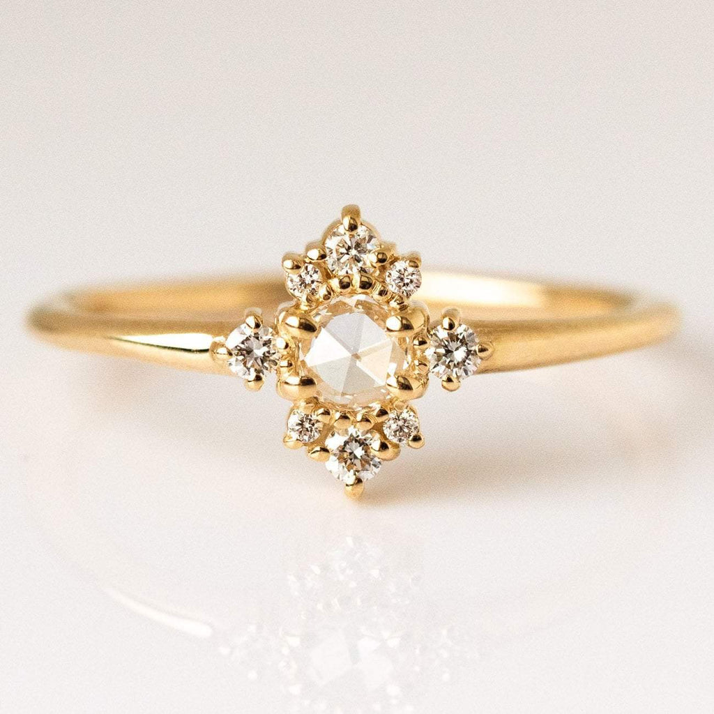 Andromeda Cluster Diamond Ring
