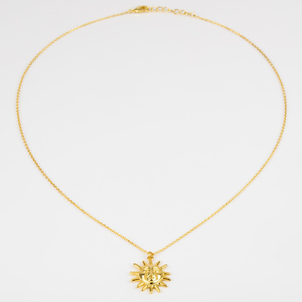Amadora Sun Necklace