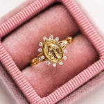 Morena Sacred Heart Ring