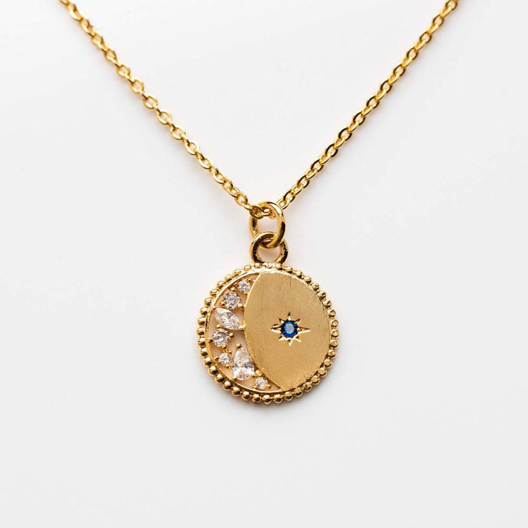 Local Eclectic Starlight 18K Yellow Gold Plated Necklace