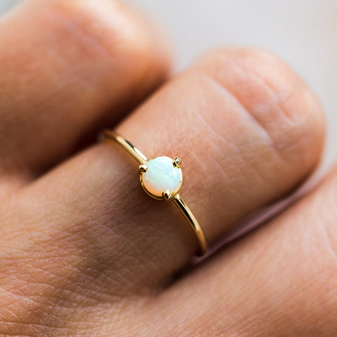 Dream Opal Ring - rings - Gjenmi Jewelry local eclectic