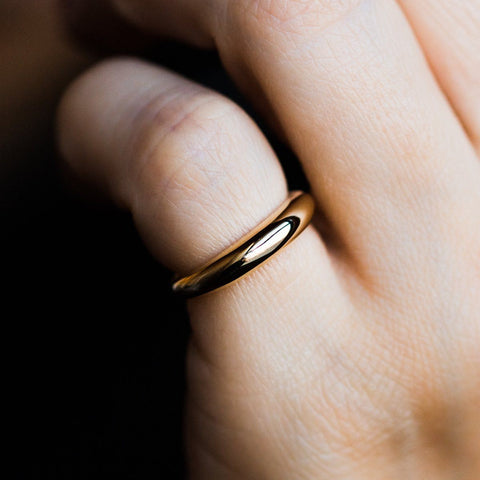 Pinky Promise Ring in Gold - rings - I Like it Here Club local eclectic