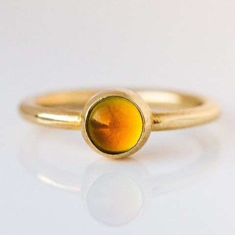 Little Moody Today Mood Ring in Brass - rings - I Like it Here Club local eclectic