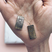 The Moon Tarot Card Necklace - necklaces - Sofia Zakia local eclectic