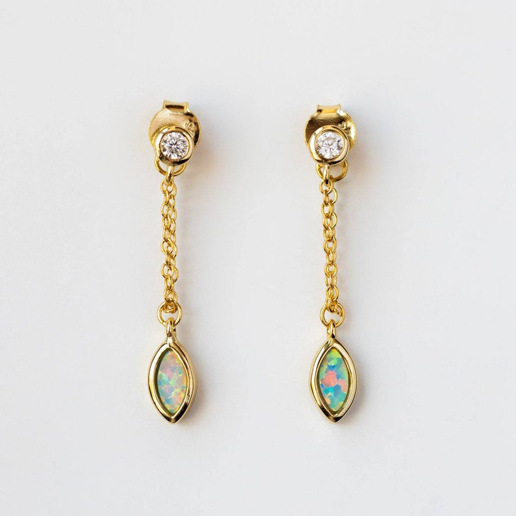 Full Swing Opal Earrings