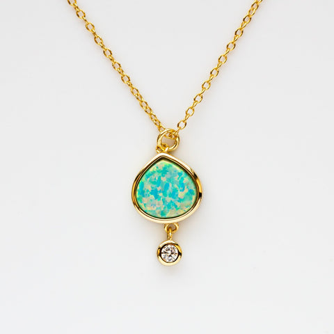 Best Friend Opal Necklace