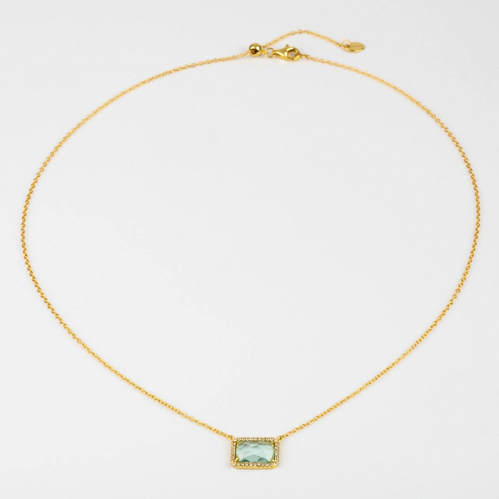 Atiena Paraiba Blue Necklace