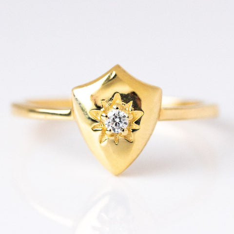 Armour Star Ring