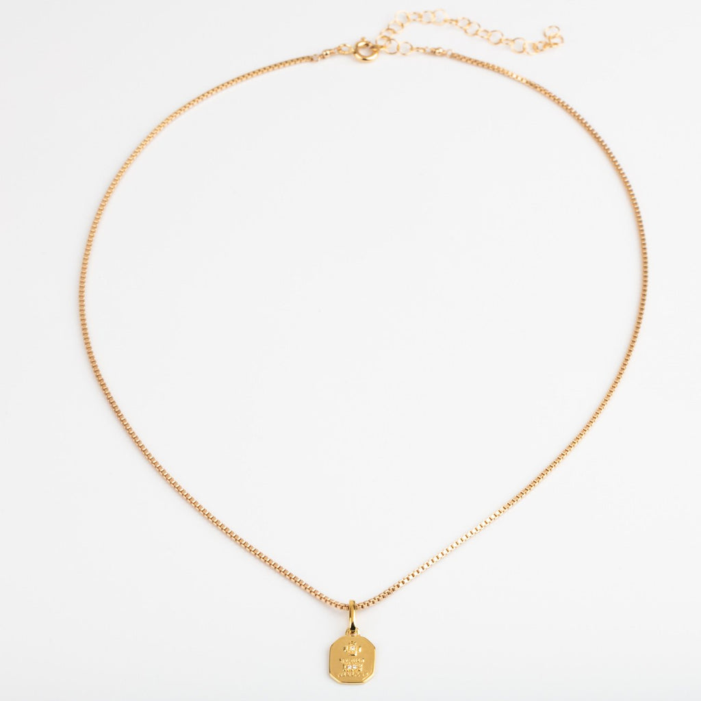 Unique Gold Necklace Meaningful Gift