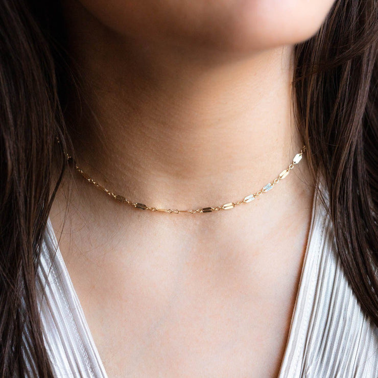 Mara Chain Necklace necklaces Leah Alexandra