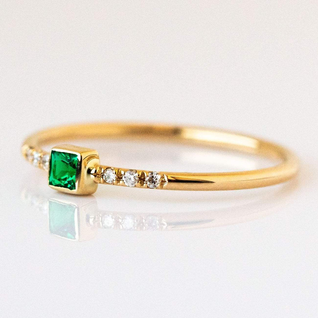 Green Creek Emerald Ring