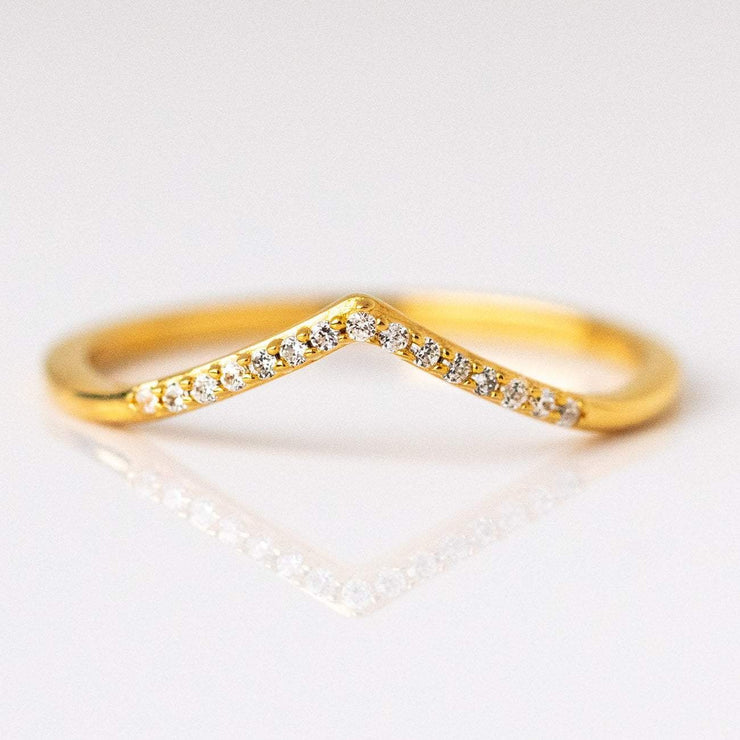 Gold Stacking Ring Exclusive Design