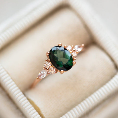 Topaz and CZ Gabriella Ring