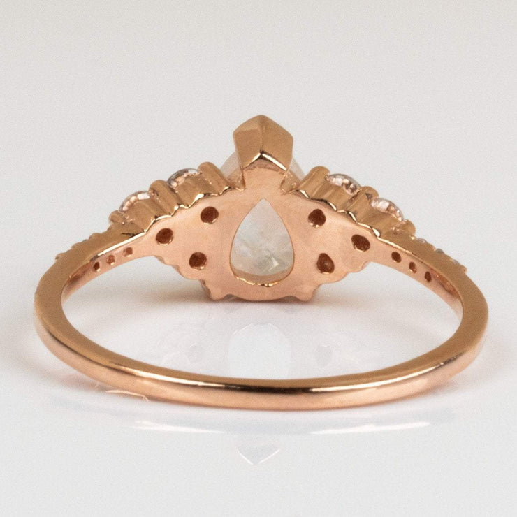Rose Gold Ring Local Eclectic La Kaiser Moonstone