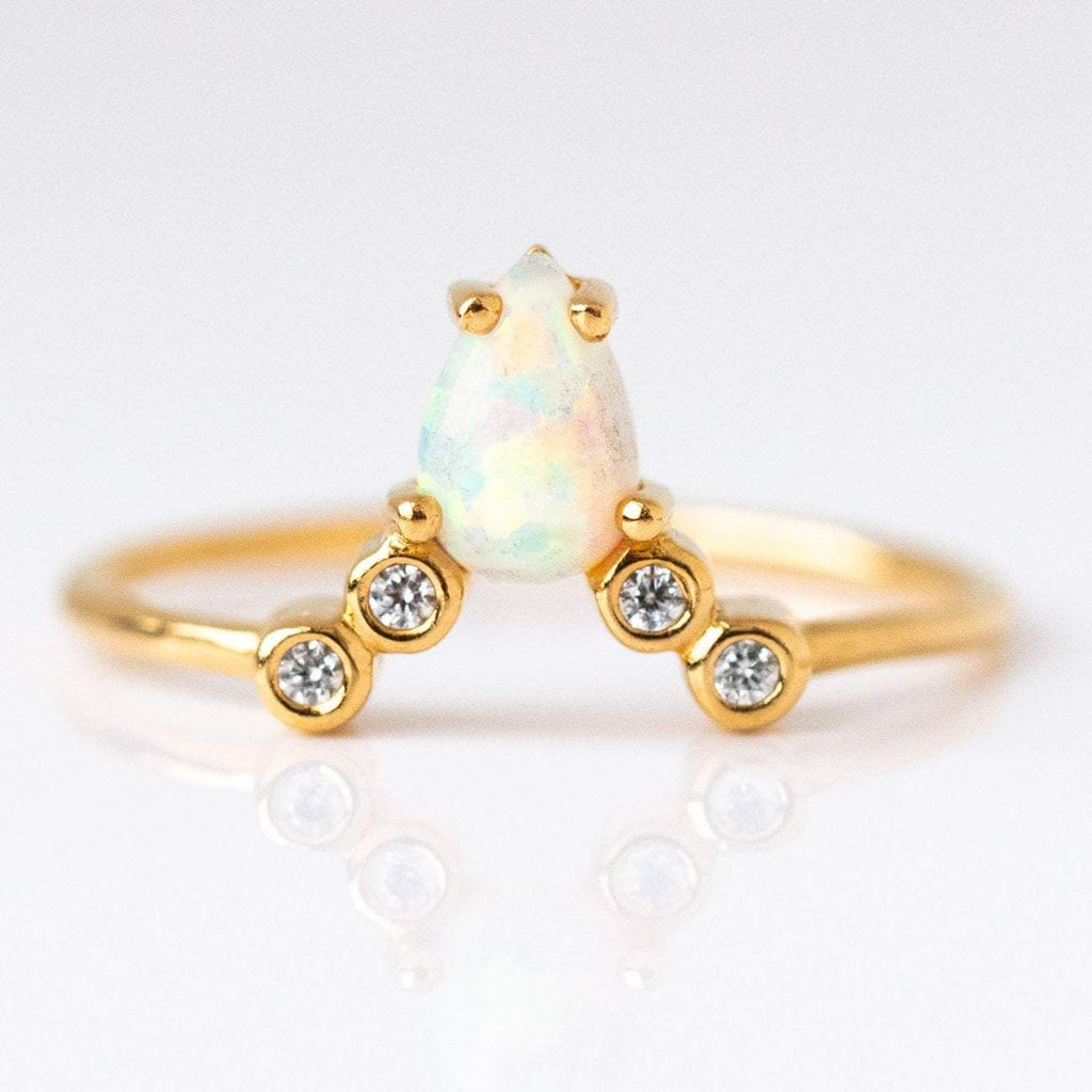 Opal & Diamond La Kaiser for Local Eclectic Exclusive Ring