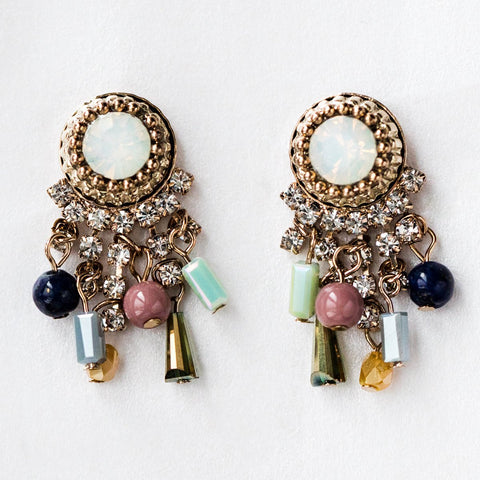 Iris Chandelier Earrings - earrings - Lover's Tempo local eclectic