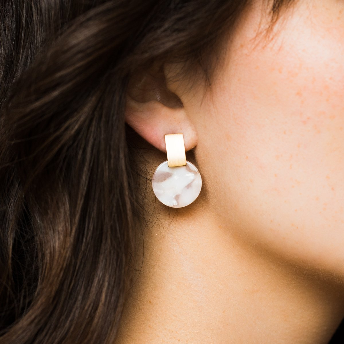 d8a4ee49ff72 Jupiter Drop Earrings in Petal - earrings - Lover s Tempo local eclectic