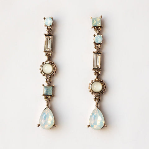 Lova Drop Opal Swarovski Earrings