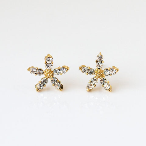 Jasmine Floral Stud Earrings