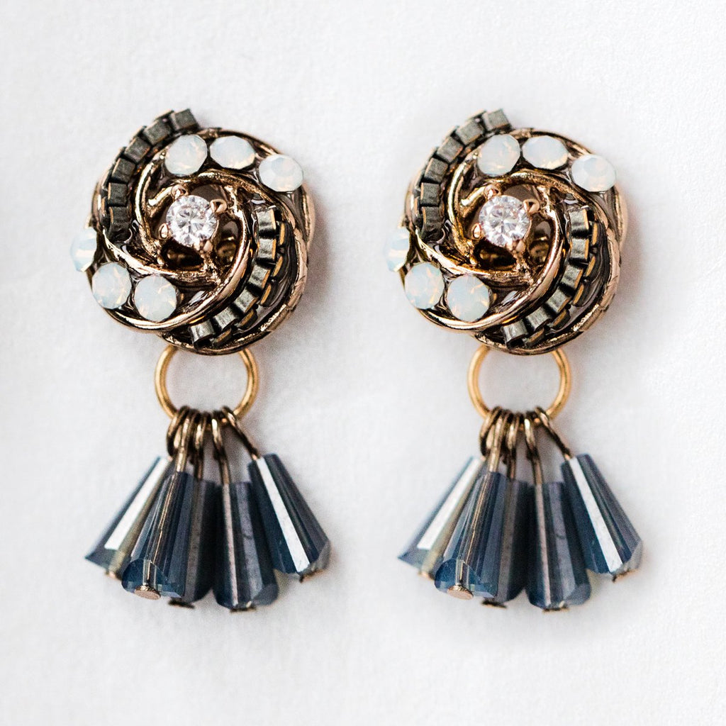 Whirl Ear Jacket - earrings - Lover's Tempo local eclectic