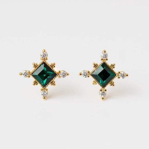 Sierra Gold stud earrings from Lover's Tempo