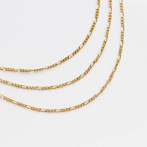 Figaro Chain in Gold - necklaces - Lover's Tempo local eclectic