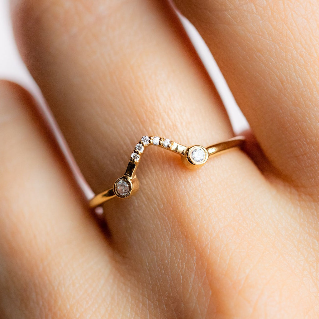 Spaced Out Stacking Ring