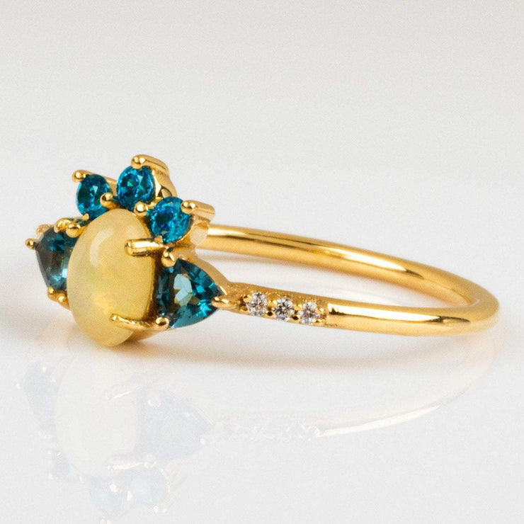 Summer Daze Ring with Opal rings Love Stoned Jewels