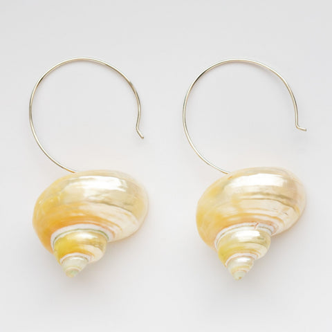 Turbo Shell Earrings